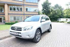 SOLD NOW 2006 Toyota RAV4 2.4 VVT-i auto sport 4x4 Left hand drive lhd UK