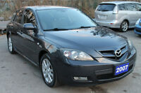 2007 Mazda Mazda3 SPORT GS HB *ONE OWNER* NO ACCIDENTS!!