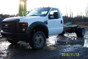 2008 Ford F550 4x4 Cab & Chassis