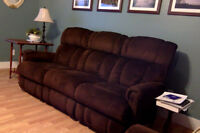 Lazboy reclining sofa for sale