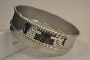 """Endecotts 8"""" Diameter Stainless Steel Frame Sieves with Stainles"""