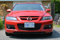2006 MAZDASPEED6 AWD Turbo Sedan, LOW KMS