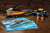 Lego 60085 4x4 with Powerboat