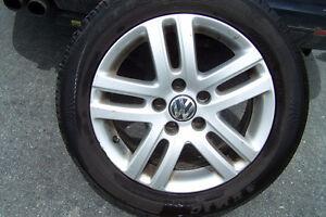 Chrome Rims plus Tires