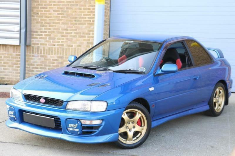 Subaru Impreza Type R 555 Edition Rare Sought After