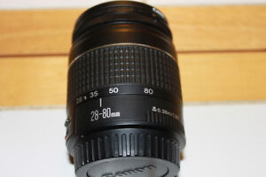 Canon EF 28-80mm Zoom Lens