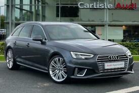 image for 2019 Audi A4 Avant S line 40 TFSI  190 PS S tronic Auto Estate Petrol Automatic