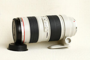 MINT condition Canon EF 70-200mm L f2.8 USM version 1 non IS
