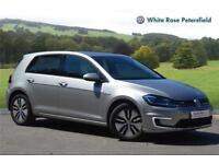 2017 Volkswagen Golf 136PS BEV Electric silver CVT