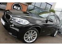 2015 15 BMW X5 3.0 XDRIVE30D M SPORT 5D AUTO-1 OWNER-BLACK DAKOTA LEATHER-20
