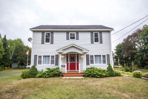 BEAUTIFUL, CLEAN HOME WITH DOUBLE DETACHED GARAGE