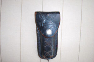 Harley Davidson Leather belt sheath