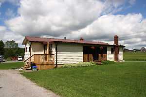 1+1 Bedroom Modular Bungalow Situated On A 2.5 Acre Lot