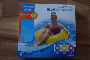 New, Summers Wave Swim Ring