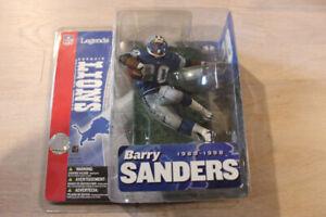 Barry Sanders McFarlane NFL Legends New In Box