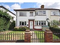 TW7 Beautifully presented 2 double grnd flr front garden no fees maisonette