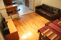 4 1/2 furnished all inclusive Métro Beaubien July 1st or before