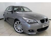 2010 59 BMW 5 SERIES 2.0 520D M SPORT BUSINESS EDITION 4DR 175 BHP DIESEL
