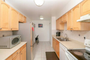 Well Maintained 3 Large Bedrooms Condo Apartment In Prime Area