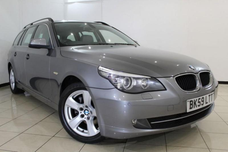 2009 59 BMW 5 SERIES 2.0 520D SE BUSINESS EDITION TOURING 5DR 175 BHP DIESEL