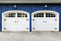 Garage door Services. Spring and Cable Replacement