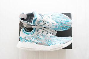 "Adidas NMD_R1 PK ""Datamosh"" Blue - Size 10.5 | Deadstock"