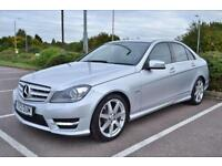 2012 12 MERCEDES-BENZ C CLASS 2.1 C220 CDI BLUEEFFICIENCY SPORT 4DR AUTO 168 BHP