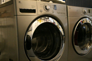 LG washer and dryer laundry pair. SOLD, PPU