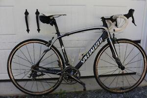 Specialized Roubaix 2009 Comp, grandeur 54, monté en 105
