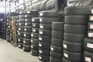 USED ALL SEASON AND WINTER TIRES, FREE INSTALLATION & BALANCE