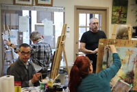 Initiation en peinture à l'huile ou acrylique