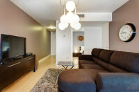 1 Bedroom 1 Bath Furnished Condo in Golden Square Mile Montreal