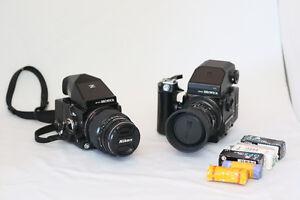 MEDIUM FORMAT: sensa bronica etrs + etrsi + 150mm + 50mm West Island Greater Montréal image 1
