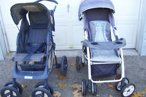 TWO BABY STROLLERS YOUR CHOICE $25.00 EACH