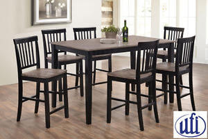 Brand NEWWeston Counter Height Dinette!Call 204-726-3499!