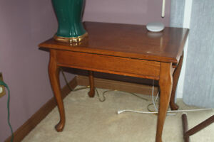 Two Wood End Tables for Sale