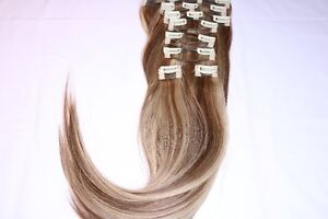 Real Human Remy Hair - 3 Tone (Highlight)
