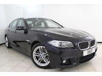 2014 64 BMW 5 SERIES 3.0 535D M SPORT 4DR AUTO 309 BHP SAT NAV M AERODYNAMICS PA