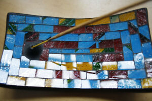 Mosaic Incense Holder