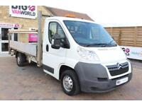 2011 CITROEN RELAY 35 HDI 120 L3 LWB ALLOY DROPSIDE WITH TAIL LIFT DROPSIDE DIES