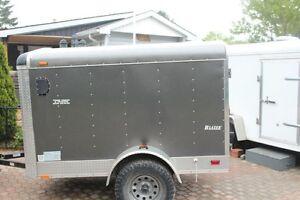 2012  5x8  enclosed trailer