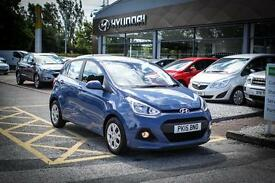 2015 15 HYUNDAI I10 1.0 SE 5dr in Blue