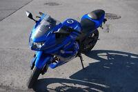 Kawasaki Ninja 250, Femme propriétaire, acheté neuve 2009