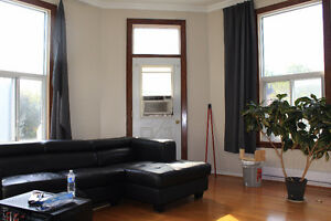 very bright renovated two bedrooms in the plateau near McGill