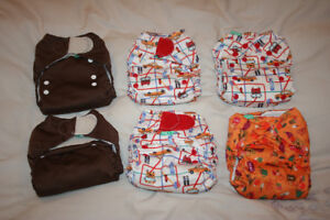 TotsBots One Size all-in-one cloth diapers
