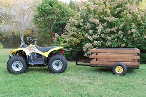 Kids Four Wheeler with Trailer