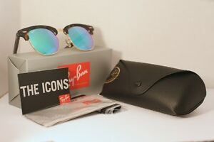 Ray Ban Clubmaster - Green Flash
