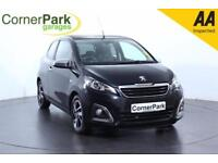 2014 PEUGEOT 108 ALLURE TOP HATCHBACK PETROL
