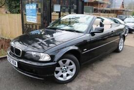 2002 (52) BMW 318 CI Auto Convertible Black NEEDS TLC LOW MILEAGE CAR