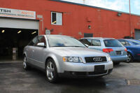 PARTING OUT AUDI A4 2004, 1.8T, Automatic, FWD CVT 128K